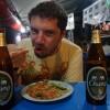 Abendessen In Der Garküche (lecker Pad tailandés)