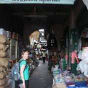 Markt Eingang