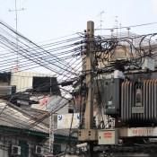 Stromverteilung In Chinatown