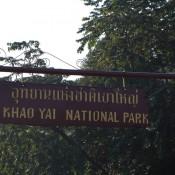 Eingang Zum Khao Yai National Park