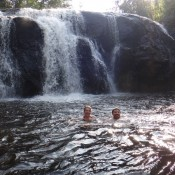 Baden Am Wasserfall
