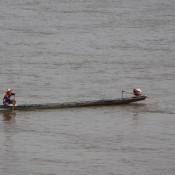 Nelayan di Sungai Mekong