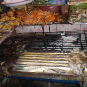 Ikan bakar di Pasaran Indochina