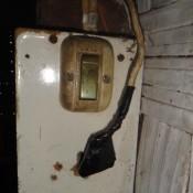 Elektroinstallation in der Hütte