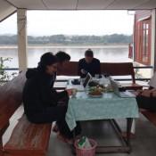 nuestro balcón en Chiang Khan