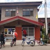 unsere Unterkunft - bereit zur Fahrradtour