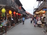in the streets of Chiang Khan