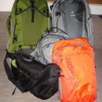 Backpacks are packed