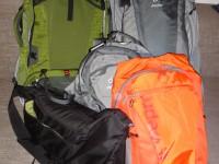 Las mochilas están empacadas