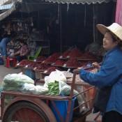 Auf Dem Markt In Sukhothai