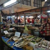 Auf Dem Markt Von Lampang