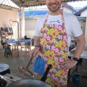 Zubereitung Der Tintenfische