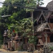 Strasse In Chiang Khong