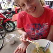 Mittagessen Am Tisch Mit Nicoles Initialien