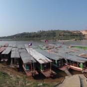 Boot Von Houay Xai Nach Pak Beng (das In Der Mitte Ist Unseres)