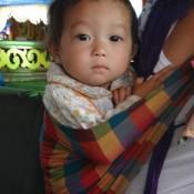 Kleines Lao Mädchen