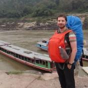Die 2. Etappe Von Pak Beng Nach Luang Prabang