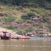 Fischerboote Und Viele Angeln