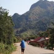 Auf Der Suche Nach Der Unterkunft In Nong Khiaw