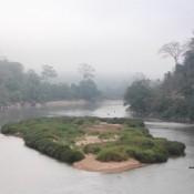 Morgenstimmung Am Fluss Nam Ou
