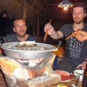 Laotisches Barbecue