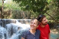 Wasserfall Tat Kuang Si (Luang Prabang – Wasserfall und Kochkurs)