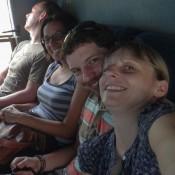 Im Bus Nach Vang Vieng