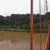 """Brücke über Den Fluß """"nam Song"""""""