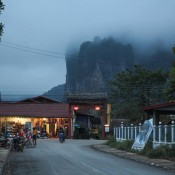 Abends In Vang Vieng