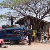 Bus Station In Ban Nahin