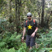 Durch Den Dichten Dschungel Zum Wasserfall Tat Namsanam