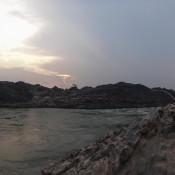 Strand Bei Den Li Phi Wasserfällen