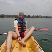 Warten Auf Die Irrawaddy Delphine