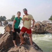 Khon Phapheng Wasserfall
