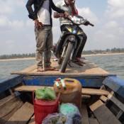 Mit Dem Boot Auf Die Insel Koh Tang