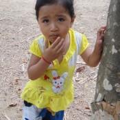 Kambodschanisches Mädchen
