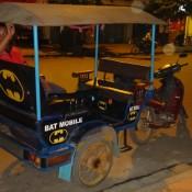 Bat Mobile Tuk Tuk