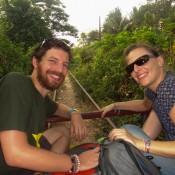 Auf Dem Bambus Zug