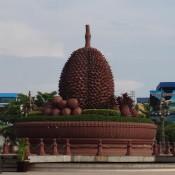 Durian (stinkefrucht) – Denkmal In Kampot