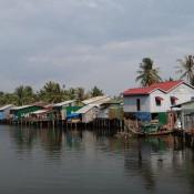 Typische Häuser Am Ufer
