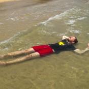 Relaxen Im Warmen Wasser