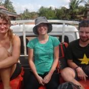 Auf Der Ladefläche Nach Sihanoukville