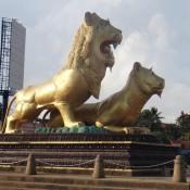 Löwen Statue