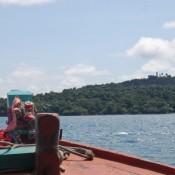 Mit Dem Boot Zum Lazy Beach