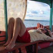Relaxen Auf Dem Boot
