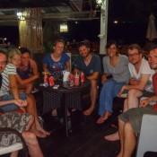 Abschlussabend Unserer Tauchgruppe (jo, Meike, Eva, Nicole, Seppel, Susan, Andreas Und Clemens)