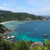 Blick Auf Die Thian Og Bay