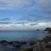 Ao Leuk Strand Nachdem Sich Der Regen Verzogen Hatte