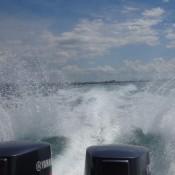Mit Dem Speedboat Auf Die Insel