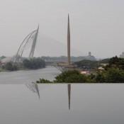 Blick Von Der Besi Moschee In Putrajaya